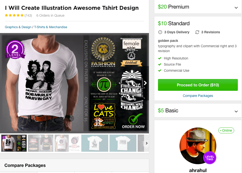 Outsourcing T-Shirt Designs: Tips For Finding Great T-Shirt Designers
