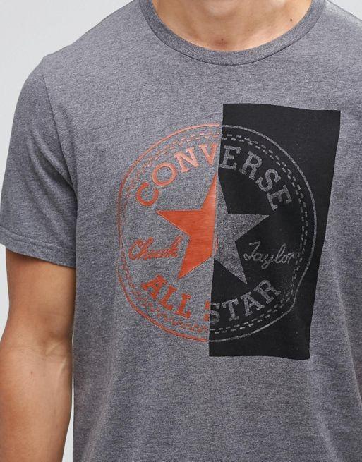 T-shirt RQ214438 br br Converse Split Logo T 838_2_LRG